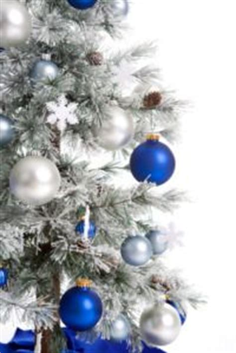 blue and silver tree ornaments 1000 images about blue on