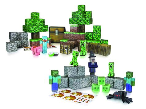 Minecraft Papercraft Snow Biome - press start minecraft comes to at comic shops