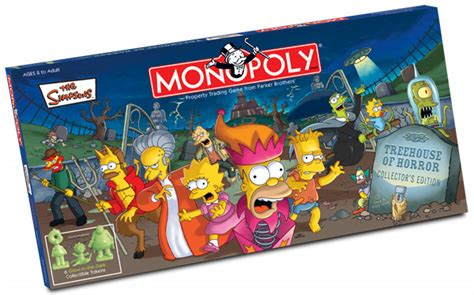 treehouse of horror monopoly the simpsons monopoly treehouse of horror collector s