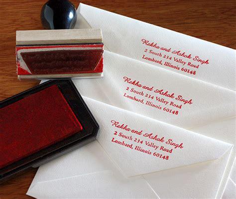 should wedding invitations a return address diy st your return address letterpress wedding invitation