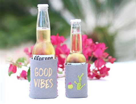 diy neoprene koozie design create