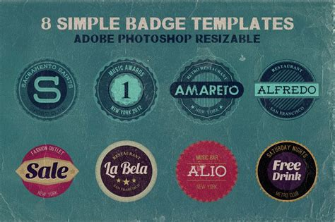 vintage badge template 15 free vintage logo template collections