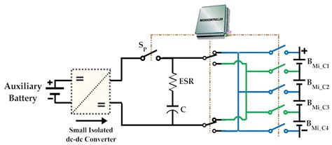 switched capacitor converter state model generator energies free text battery management system balancing modularization based on a single