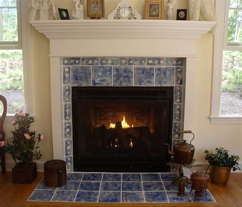 fireplace surrounds with marble panel and