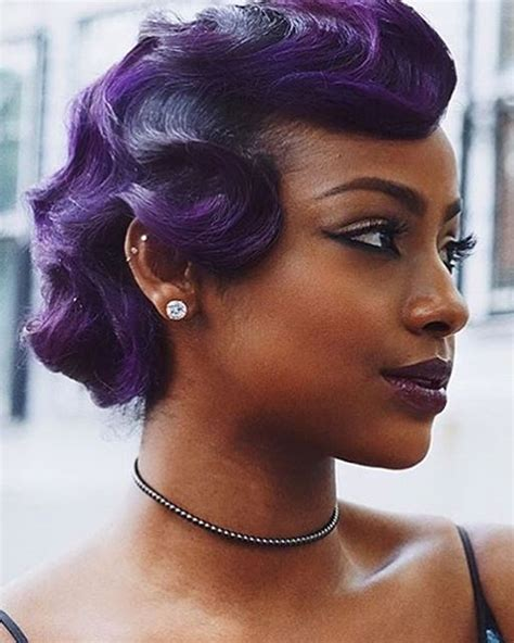 25 Modern Finger Wave Short Bob Haircut & Hairstyle Images