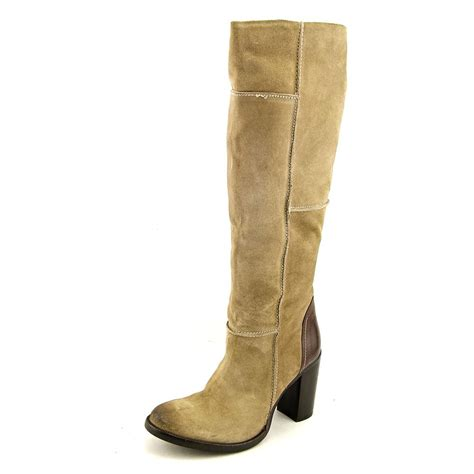 aubree womens suede fashion knee high boots new display