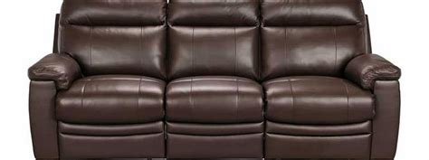 argos recliner sofa argos paulo leather effect large recliner sofa review