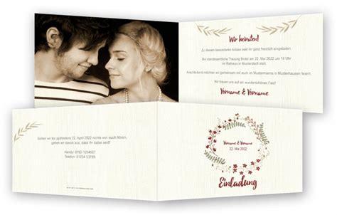 Einladungskarten Hochzeit Foto by Hochzeit Einladungskarten Vorlagen Feinekarten