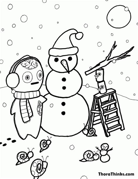 december coloring page coloring home