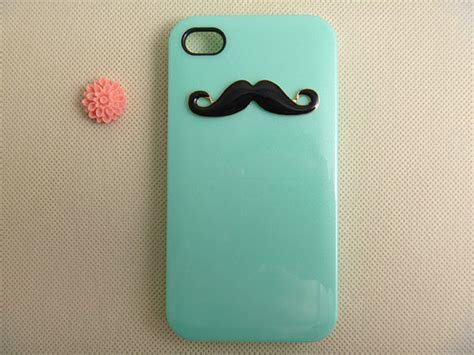 Iphone 4 4s Huf Bape Blue Pattern Hardcase iphone 4 unique mustache iphone 4s custom