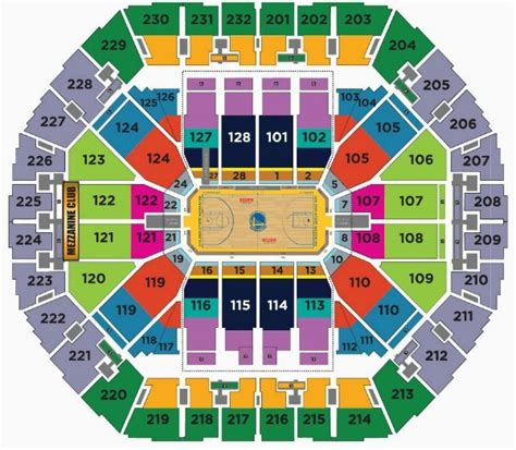 oracle arena warriors seating chart golden state warriors tickets schedule 2017 2018
