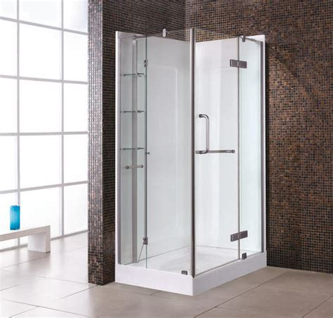menards bathrooms dalia 40 premium shower kit with walls at menards 174