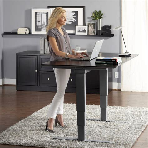 Office Desk Standing What To Consider About The Use Of Standing Height Adjustable Desk For Your Office Duties
