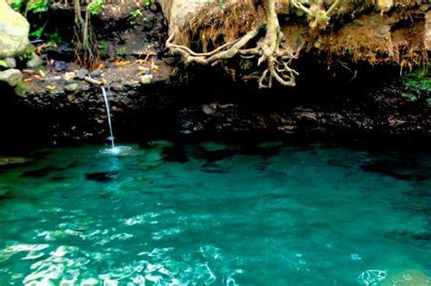 blue lagoon jogja sumber mata air jernih tiada duanya