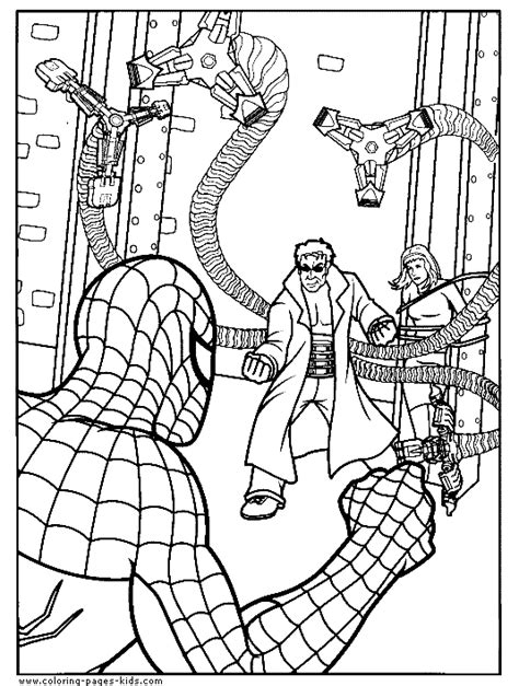 coloring book free doc ock coloring pages az coloring pages
