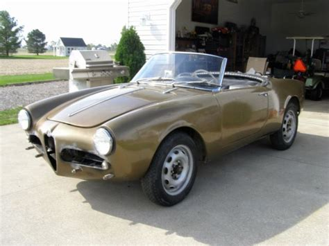1959 alfa romeo giulietta spider 1959 alfa romeo giulietta veloce spider needs restored