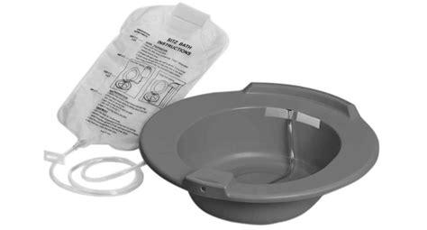 bain de siege hemoroide bain de si 232 ge en plastique medline dufort et lavigne