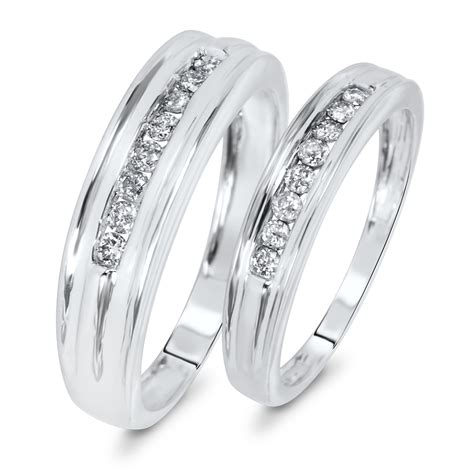Wedding Bands Pair by Wedding Rings Pair White Gold
