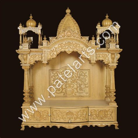 buy beautiful wood temple exporter supplier
