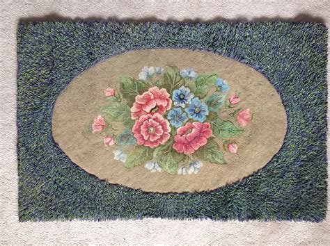 pearl mcgown rug hooking patterns pearl mcgown design floral rug hooked by gilbert 26x40 inches rug hooking mcgown