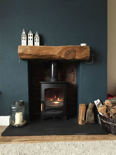 hearth ideas fireplace finished charnwood c four riven slate hearth