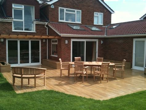 Ground Level Patio Ideas by Decking Here S Some Beautiful Ground Level