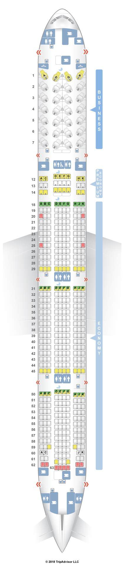 777 300er seat map 777 300er seating images