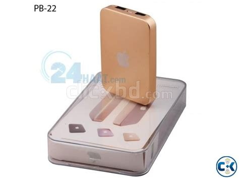 Powerbank Apple apple ipower power bank 12000mah golden clickbd
