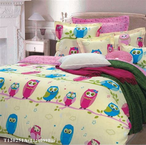 owl bedroom set owl girls bedding sets yellow geneva ideas pinterest