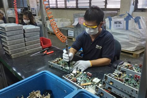 where to buy capacitors in singapore singapore renews efforts to boost e scrap collections e scrap and batteries asia recycling