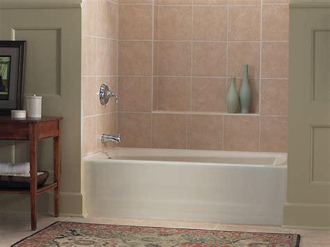 kohler mendota bathtub mendota 60 quot x 32 quot alcove bath with left hand drain k 505