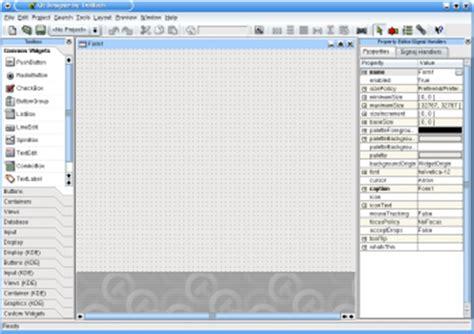 qt interface tutorial development tutorials kde3 qt designer and kdevelop 3 0