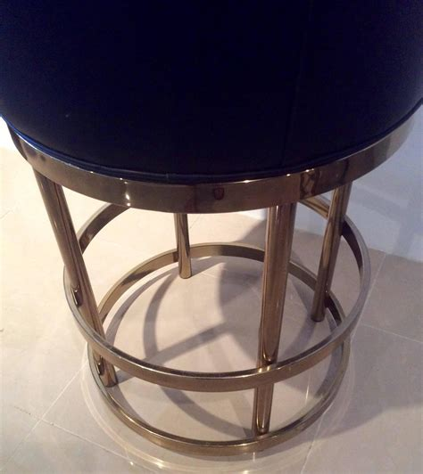 swivel bar stools for kitchen island brass swivel counter bar stools vintage set 4 kitchen