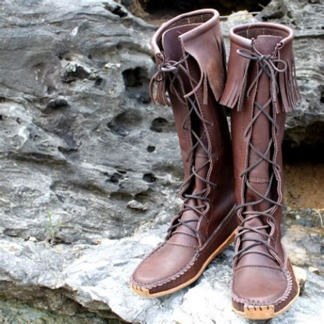 mens motorcycle boots brown men s knee high smooth grain leather boot with canoe sole