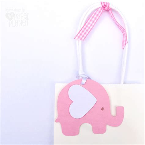 Elephant Baby Shower Gifts by Pink White Elephant Baby Shower Gift Tags Baby