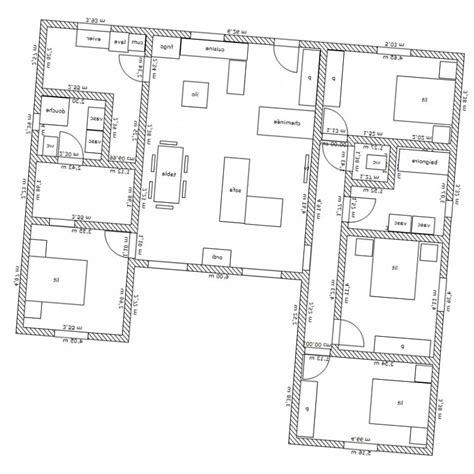 Maison Contemporaine En U by Plan Maison Moderne En U Mc Immo