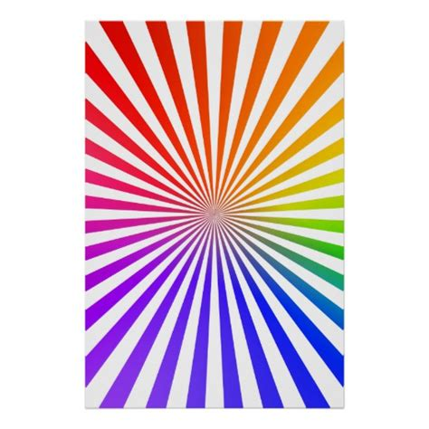 svg radial pattern poster rainbow radial pattern vector drawing zazzle