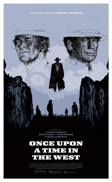once upon a time film once upon a time in the west movie poster by oliver