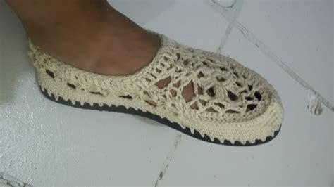 paso a paso de como hacer zapatos tejidos para nina zapatos crochet mujer paso a paso