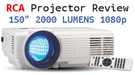 rca home theater projector review   lumens p