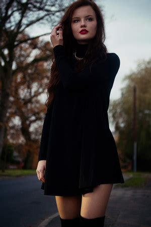 h m swing dress black h m swing dress how to wear and where to buy