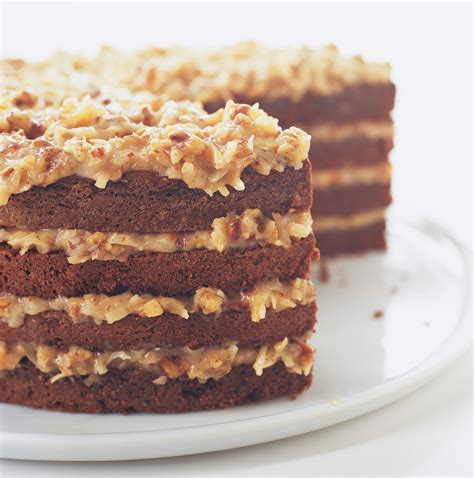 german chocolate cake with coconut pecan filling recipe america s test kitchen