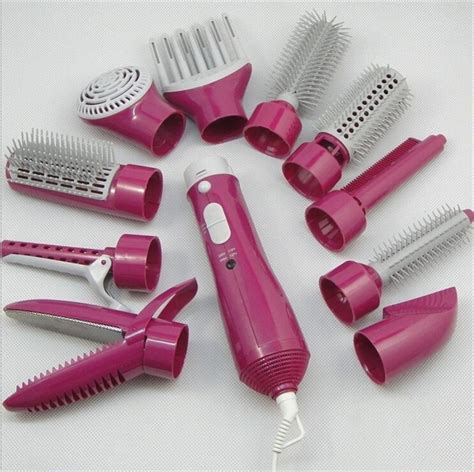 Hair Dryer Comb Straightener hair curling tongs hair straightener comb brush massager tool hair dryer combs in combs from
