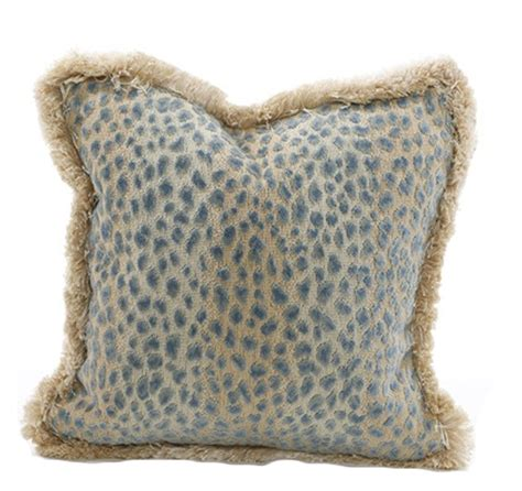 Leopard Pillows leopard pillow the kellogg collection