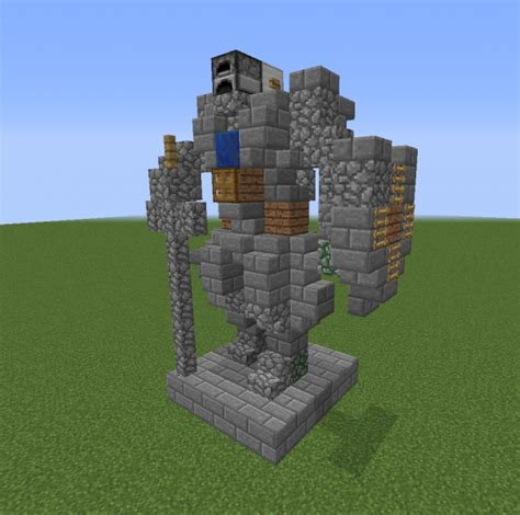 minecraft boat night knight mini statue 5 grabcraft your number one source