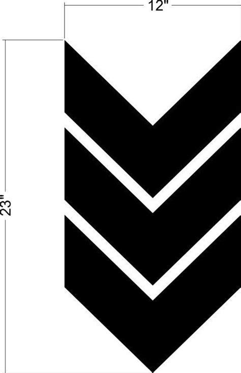 geometric pattern arrow wall decal chevron arrow geometric pattern shape