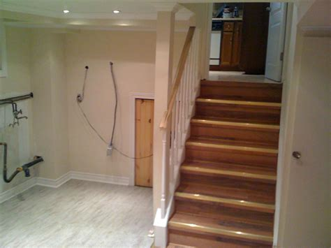 Basement Stairs Finishing Ideas Finishing Basement Stairs Modernize