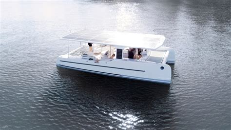 the tesla of solar electric yachts launches in new zealand