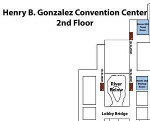 henry b gonzalez convention center 2nd floor san convention center gt home
