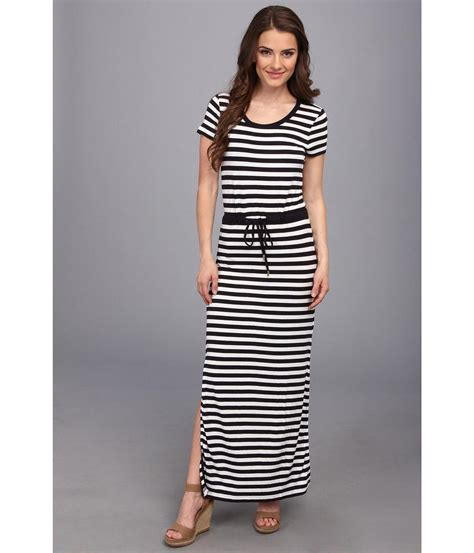 s slash striped maxi dress dresscab
